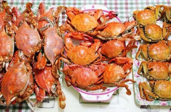 阳澄湖大闸蟹和海蟹