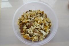 王氏水产蟹蒸蛋做法剔蟹肉