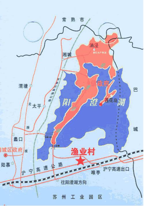 阳澄湖地图